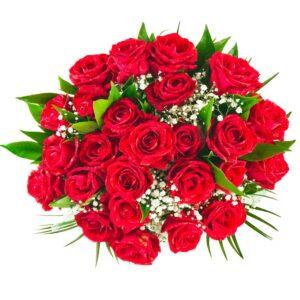Rosenrød buket